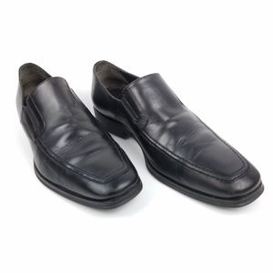 Bruno Magli Raging Black Leather Loafer 9